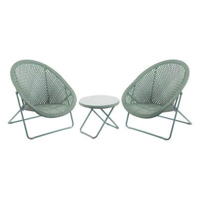 Rattan-Garden-Chair-Set-Green sqr-2