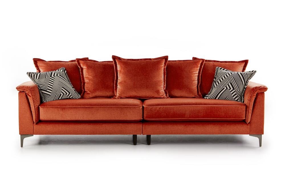 Andromeda 4 Seater Sofa - Deluxe Velvet