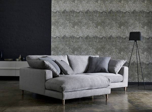 Aries 4 Seater Split Chaise Sofa - Zenith Fabric