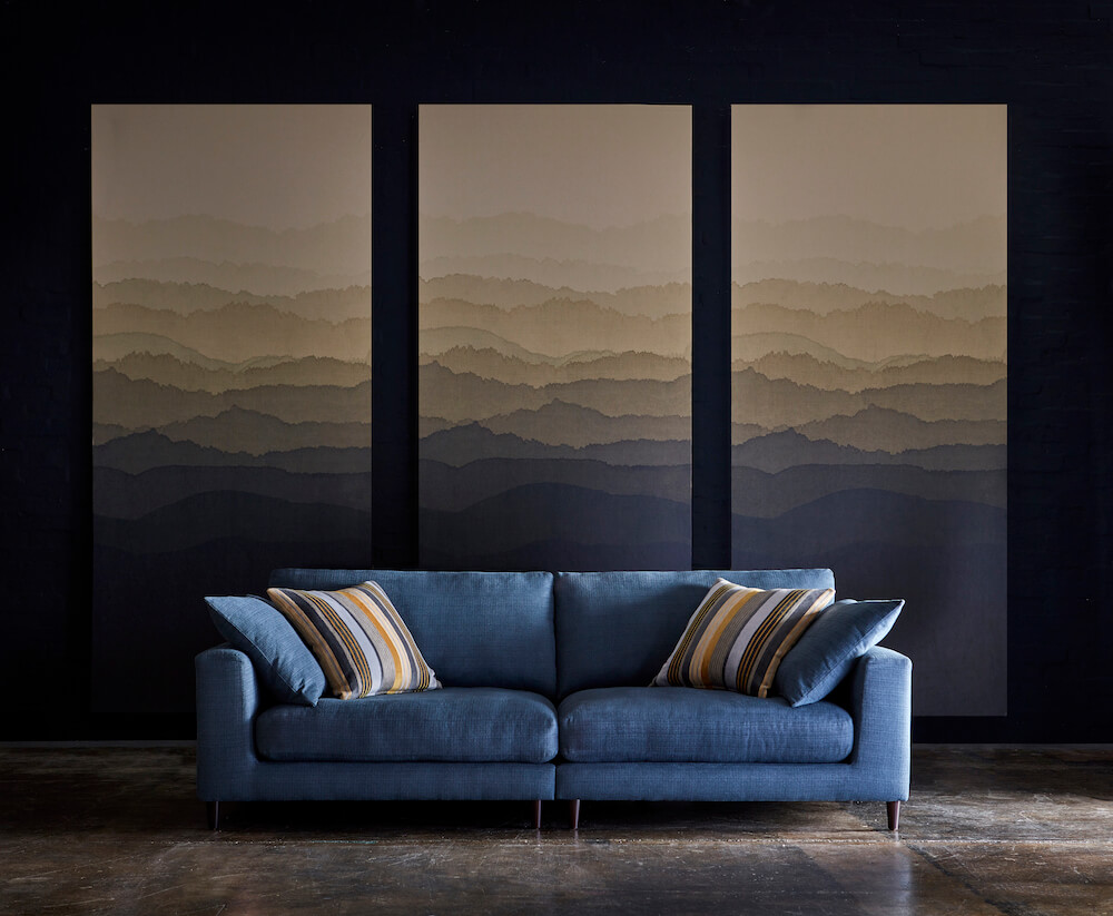Aries 4 Seater Sofa - Zenith Fabric