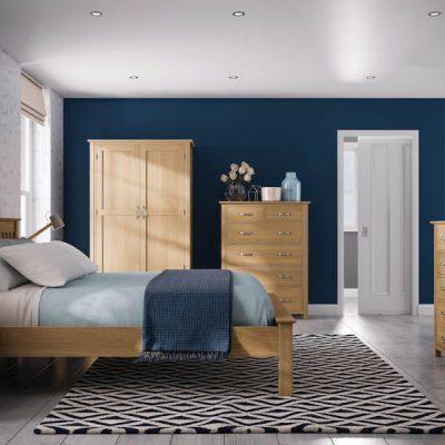 Bryer Oak Bedroom