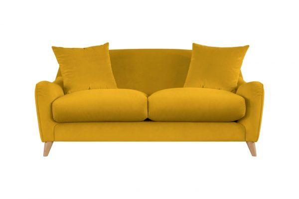 Lucy Small Sofa  162cm //Grade C - Velvet