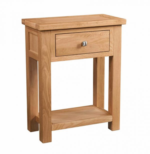 Abbey Oak 1 Drawer Console Table