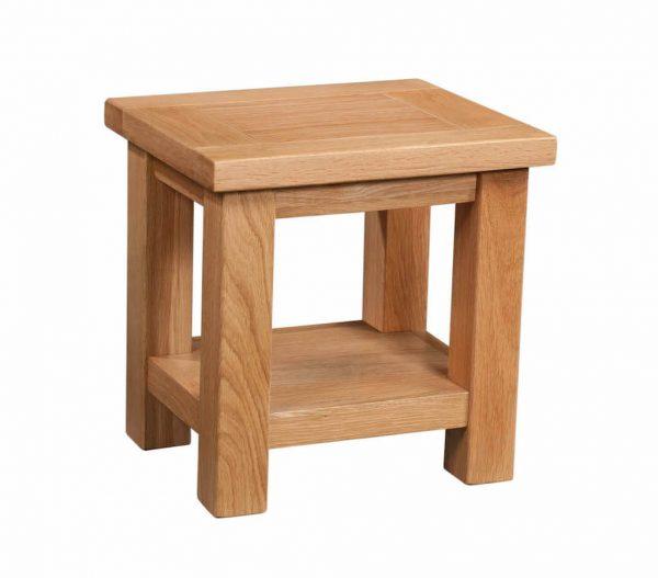 Abbey Oak Lamp Table