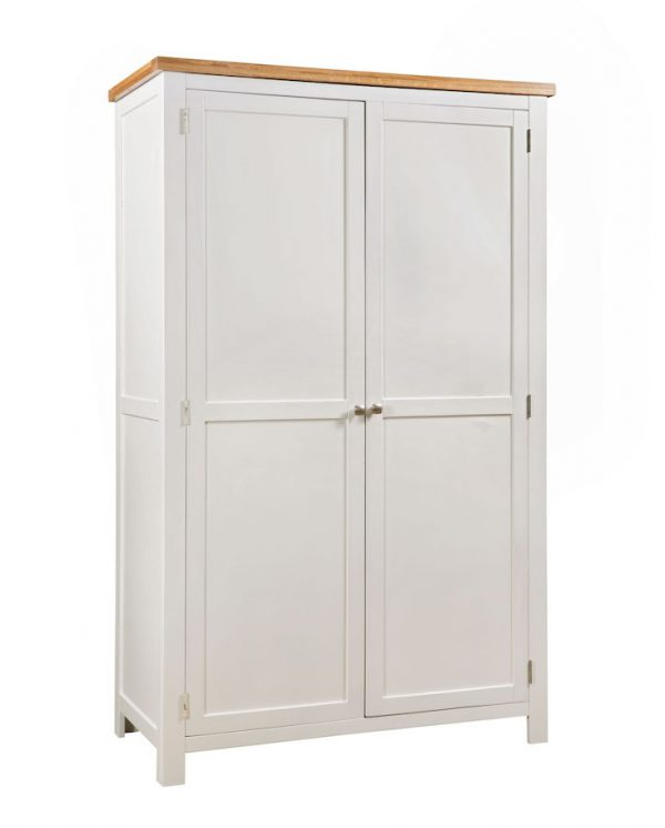 Abbey Painted Ivory All Hanging Double Wardrobe