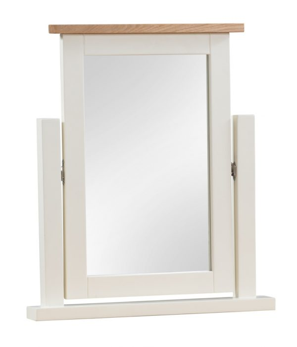 Abbey Painted Ivory Dressing Table Mirror