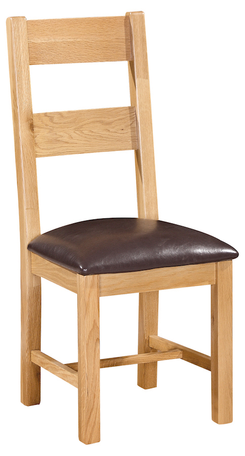 Bryer Oak 2 Rail Chair
