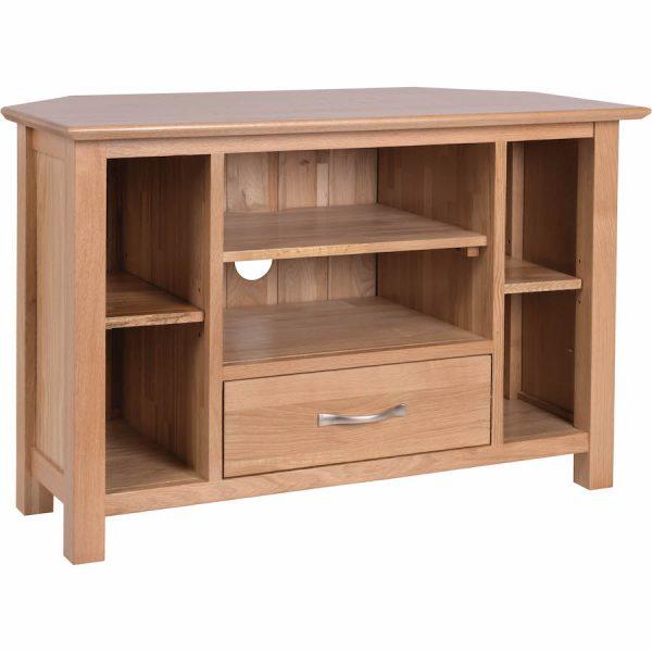 Bryer OakCorner TV Cabinet