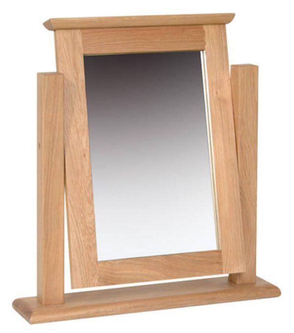 Bryer OakSingle Dressing Table Mirror