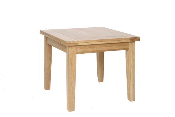 Bryer Oak3' x 3' Flip Top Extendable Table