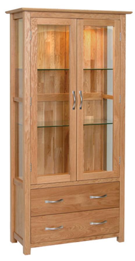 Bryer OakDisplay Cabinet