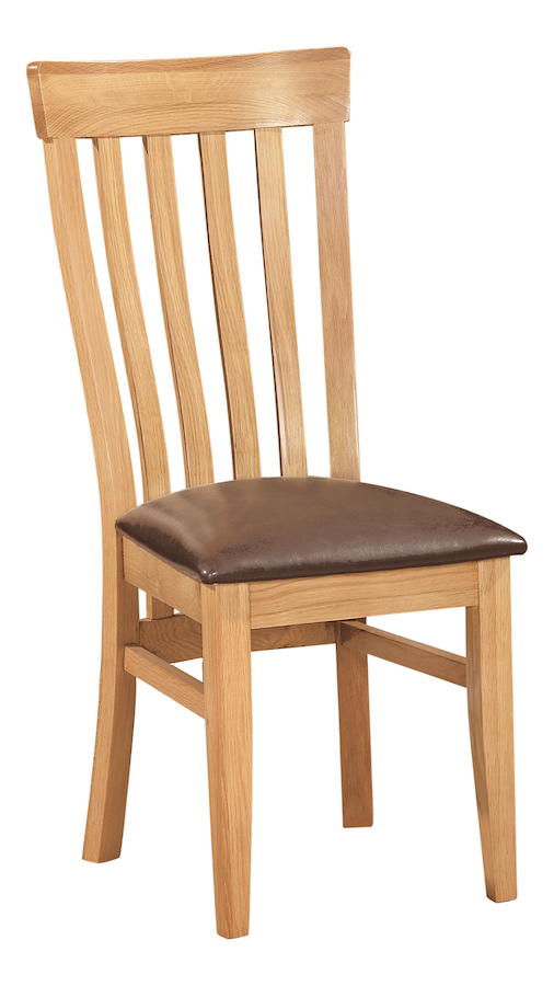 Bryer OakJenna High Back Chair