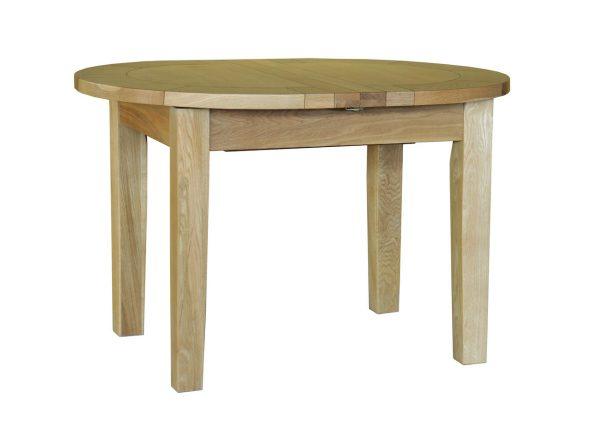 Bryer OakSmall 'D' End Extending Table 1215mm