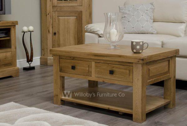 Buffalo Oak 3' x 2' Coffee Table