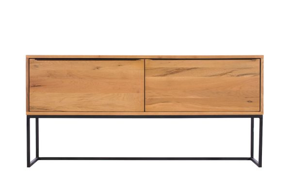 Ealing Light Oak Console Table
