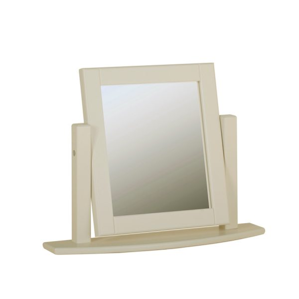 Emily Single D/T Mirror Painted Ivory