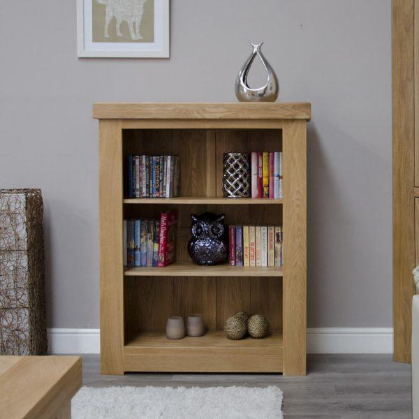 Hippo Oak Small Bookcase