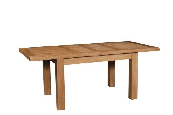Okeford Oak Dining table Medium (2 Leaf) 132-198 x 90