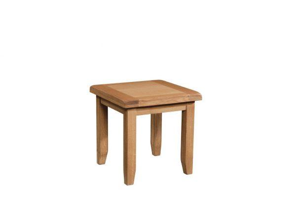 Okeford Oak Lamp Table