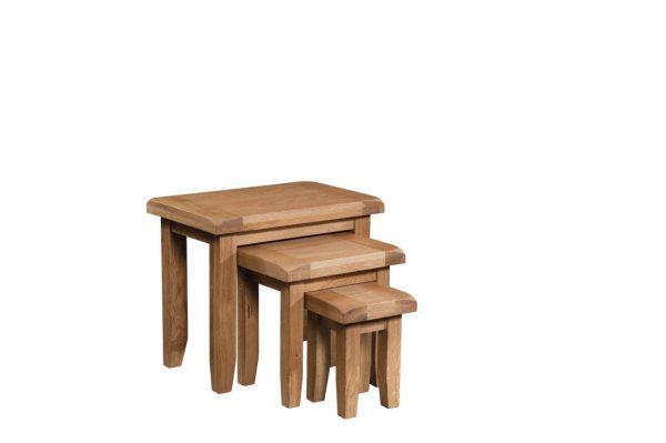 Okeford Oak Nest of Tables