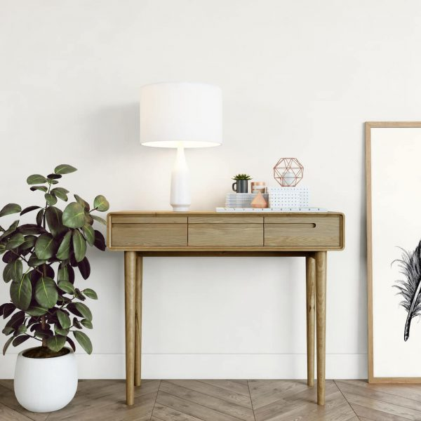 Oslo Oak Console Table