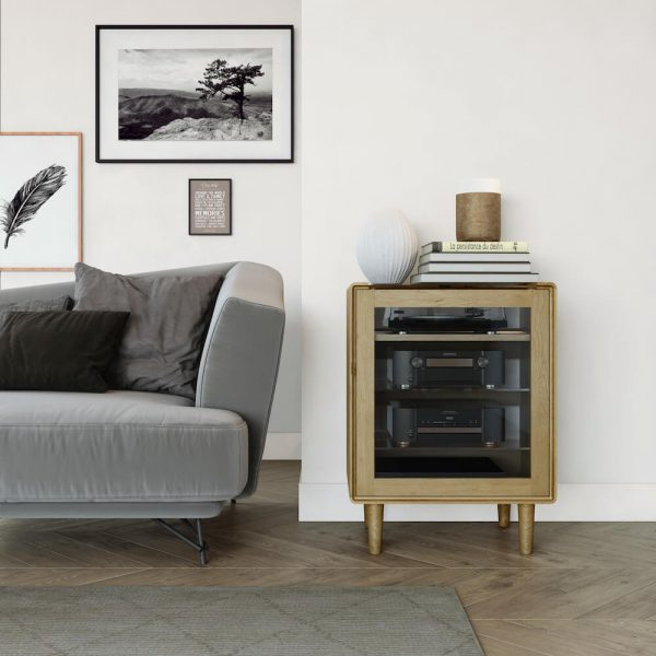 Oslo Oak Hifi/Media Unit
