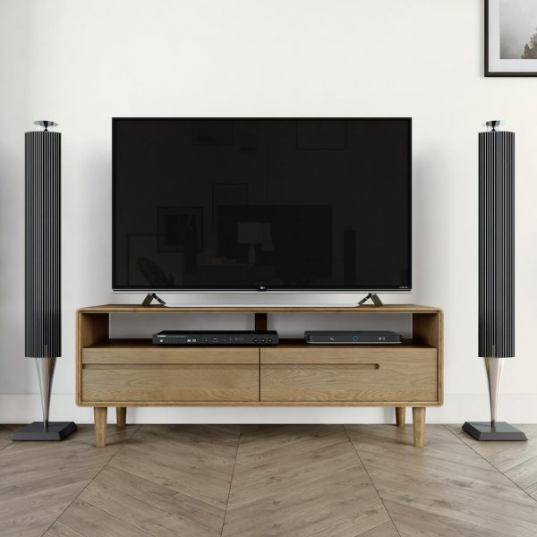 Oslo Oak Medium TV Unit