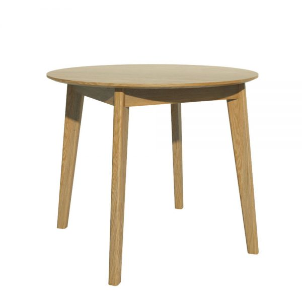 Oslo Oak Round Dining Table