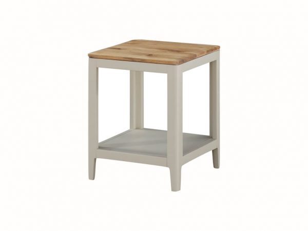 Pelican Painted Side Table