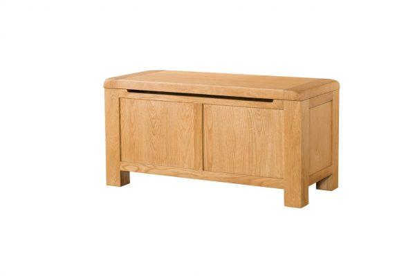 Radford Oak Blanket Box