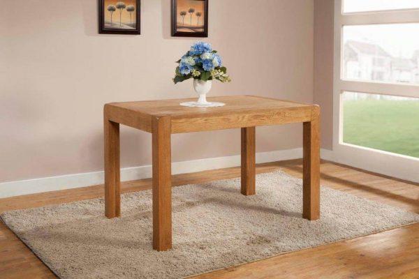 Radford Oak Fixed Top Dining Table 120 x 80