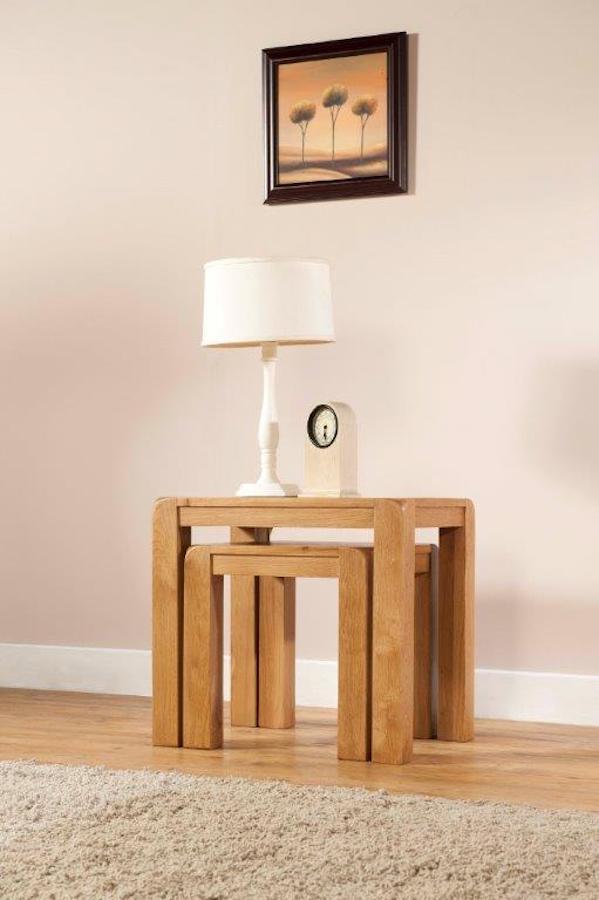 Radford Oak Nest of Tables