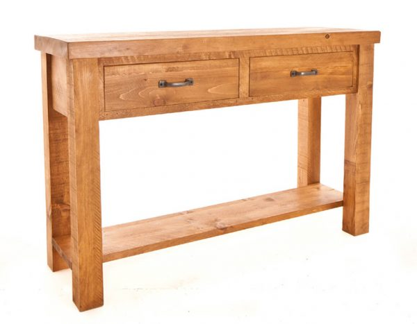 Ramsbury Pine 2 Drawer Console Table