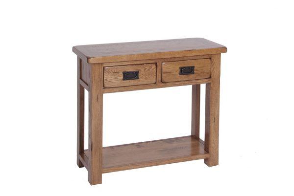 Ridgeway Oak2 Drawer Console Table