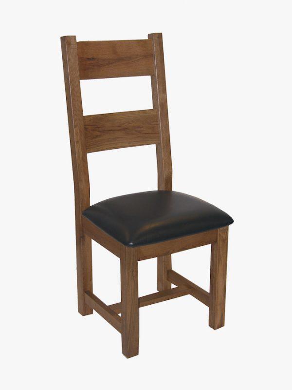 Ridgeway Oak2 Rail Oak Chair