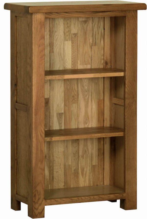 Ridgeway Oak3' Narrow Bookcase