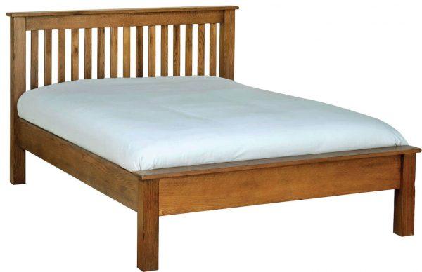 Ridgeway Oak5' King Size Bed