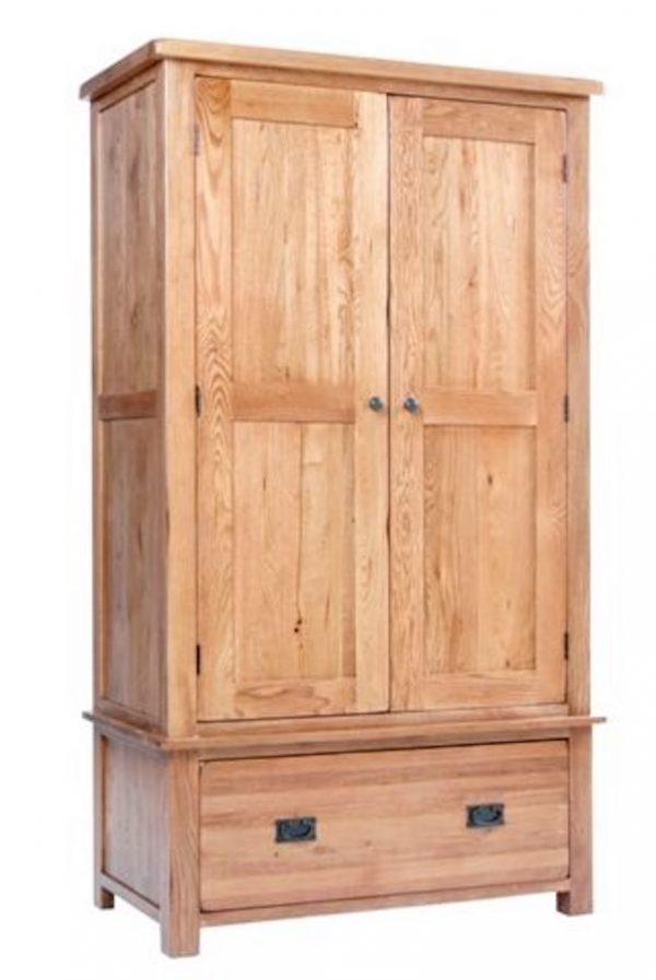 Ridgeway Oak1 Drawer Wardrobe