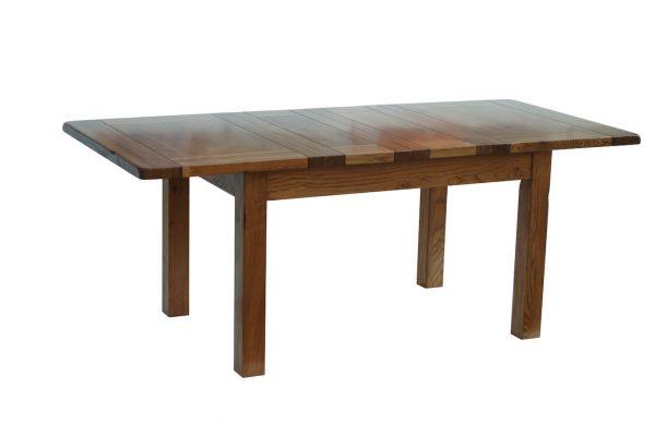 """Ridgeway Oak4'6"""" Extendable Table (2 Leaf)"""