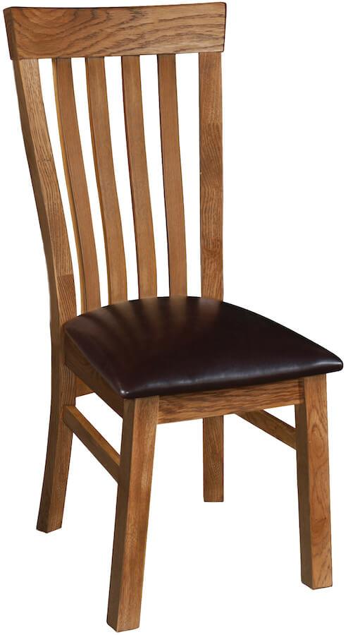 Ridgeway OakJenna Hi-Back Chair