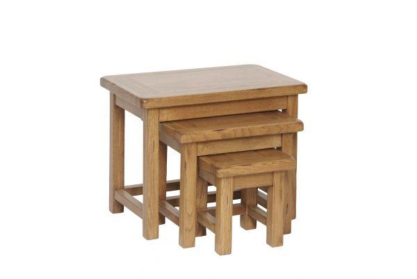 Ridgeway OakSmall Nest Of Tables