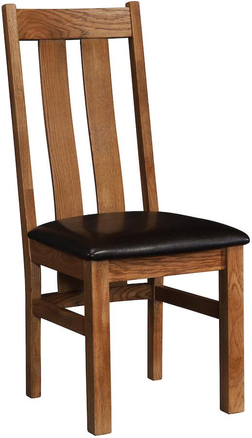 Ridgeway Oak Slat Back Chair
