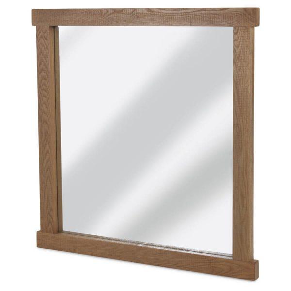 Saxon Rough Sawn Oak Mirror