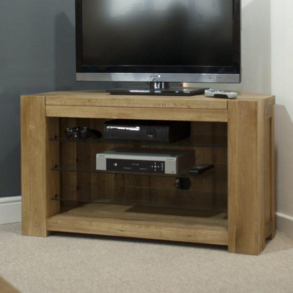 Rhino Oak Corner TV Unit