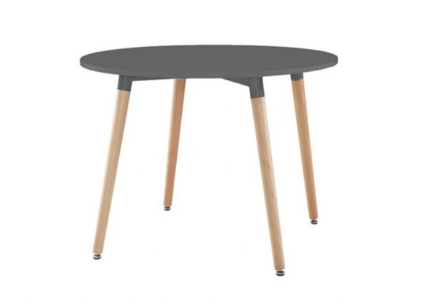 Willobys Urban Round Dining Table - Grey