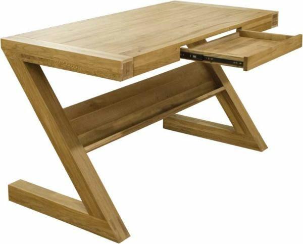 Zebra Oak Desk