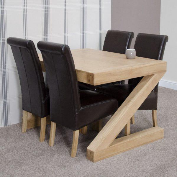 Zebra Oak 4ft Table