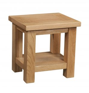 Abbey Oak Side Table
