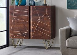 Dark-Gold-Small-Sideboard-Lifestyle