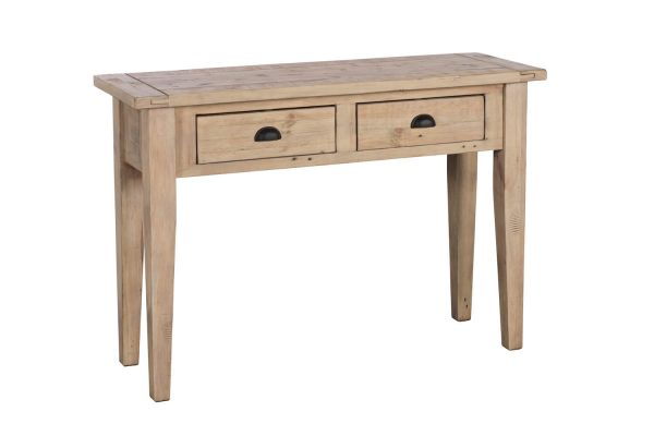Ellora Traditional 2 Drawer Console Table
